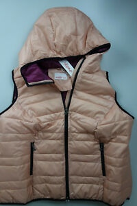 Sheego Ladies Quilted Vest Jacket plus Size Pink (735) New