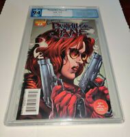 Painkiller Jane #1 PGX 9.4 red foil edition with COA limited to 199 not CGC CBCS