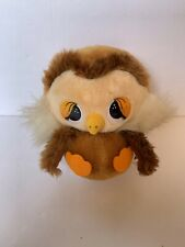 "Applause Plush Owl VTG 1982 Stuffed Toy 8"" Vintage"