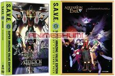 Aquarion + EVOL Seasons 1 & 2 Complete Series (S.A.V.E) Anime DVD Bundle R1