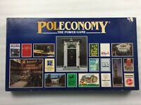 Vintage Poleconomy Board Game, The Power Game, 100% Complete,Excellent Condition