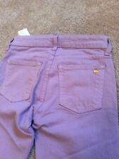 Kate Spade Lavender Cropped Broome Street Jeans Sz24