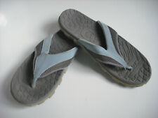 Scholl Blue & Grey toe bar flip flop sandals, Eur 41 UK 8 worn once