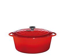 Küchenprofi - PROVENCE - ovaler Bratentopf, 31cm - rot