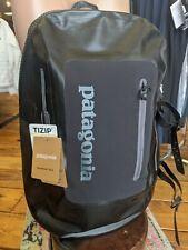 Patagonia Stormfront Waterproof Backpack Black 30L