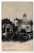 SUISSE SWITZERLAND canton FRIBOURG MORAT MURTEN le chateau