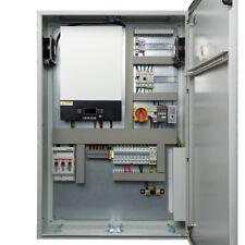 Armario de control de 5kW de energía silencioso. fuera Red. sistema Solar Cargador Batería MPPT