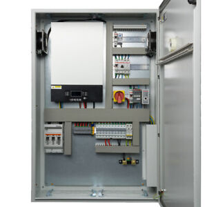 Silent Power 5kW Control Cabinet. Off Grid Solar System. MPPT Battery Charger