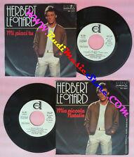 LP 45 7'' HERBERT LEONARD Mi piaci tu Mia piccola natalie PROMO no cd mc dvd