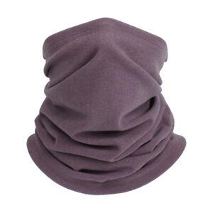 Winter Neck Warmer Bandana Gaiter Tube Scarf Fleece Thermal Pipe Half Face Cover