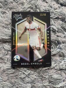 Panini Black & Gold Breel Embolo /35 Switzerland Card MINT