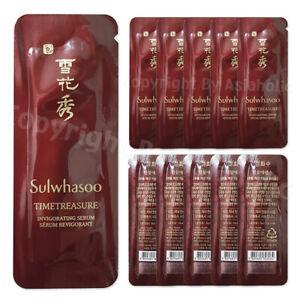 Sulwhasoo Timetreasure Invigorating Serum 1ml (10pcs ~ 100pcs) Sample Newist Ver
