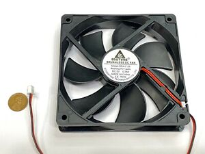 GDSTIME 5V 2Pin 12cm 120mm x 25mm GDA 1225 Axial Exhaust Cooling Fan G16