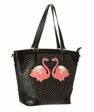 Dancing Days Blair Flamingo Retro Bag
