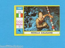 MUNCHEN/MONACO '72-PANINI-Figurina n.184- CALLIGARIS - ITALIA -NUOTO-Rec