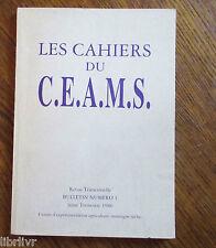 Agriculture en montagnes sèche Cahiers du CEAMS n°1 Huiles essentielles
