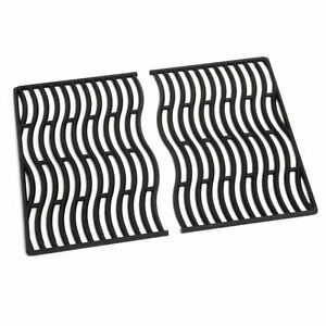 Napoleon S83008 Replacement Cast Iron Cooking Grids for Rogue 425 Grills, Black