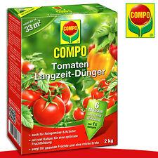 COMPO 2 kg Tomaten Langzeit-Dünger | Auch für Feingemüse und Kräuter