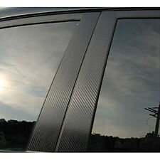 B C Pillar Carbon Black Decal Sticker 6p 1Set For 12 13 Kia Rio : All New Pride