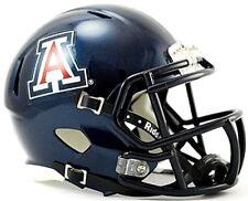 Arizona Wildcats BLUE Riddell NCAA Football Replica Revolution SPEED Mini Helmet