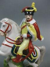 Scheibe Alsbach Napoleon Reiter General Prinz Eugen Pferd Husar  Militär