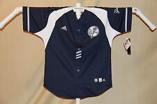 New York NY YANKEES  embroidered logo JERSEY   by ADIDAS   Youth Large    NWT