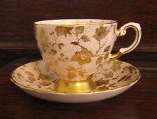Tuscan Fine English Bone China Cup & Saucer, England, Pattern 9580 H (1947-1967)