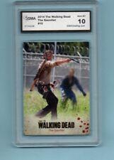 2014 Walking Dead Season Rick Grimes Trading Card GMA Graded 10 GEM MT