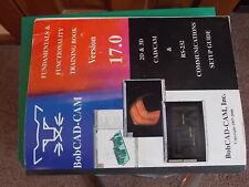 BobCAD-CAM v17 Book and Disc no key