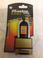 Master Lock Excell 4 Digit Combination 50mm Padlock - 51mm Shackle