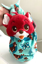 Disney Parks Baby Tod from The Fox and the Hound in a Pouch Blanket Plush Doll