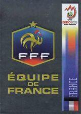 Panini Sticker Fußball Euro 2008 Nr. 337 FRA France Wappen / Logo Glitzerbild