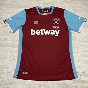 Umbro West Ham United Home Shirt M Betway Queen Elizabeth Olympic Park 2016 17