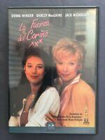 DVD LA FUERZA DEL CARIÑO Debra Winger Shirley MacLaine Jack Nicholson J BROOKS