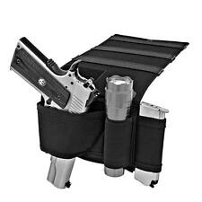 Concealed Under Car Seat Mattress Bedside Gun Pistol Holster with Mag Holder