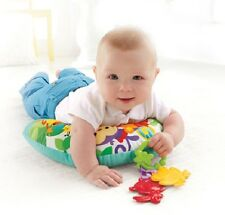 Fisher-Price Rainforest Comfort Vibrations Musical Play Wedge Baby Mat Babys Toy