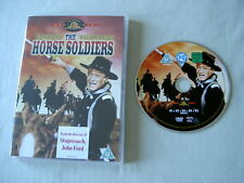 THE HORSE SOLDIERS UK DVD John Ford John Wayne William Holden Althea Gibson