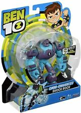 Ben 10 Action Figures - Shock Rock - (Damaged Retail Packaging) - 76115