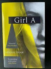 Girl A by Abigail Dean (Hardcover, 2021)