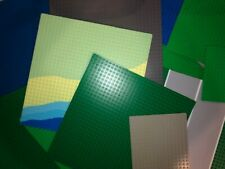 Lego Large Base Plates - 32x32, 16x32, More.Pick Color & Size. Clean & Inspected