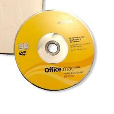 Microsoft Office Mac 2008 Home & Student Disc ONLY W/ 3 Product Codes