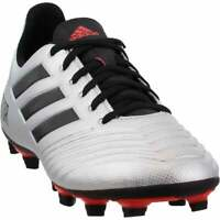 adidas Predator 19.4 Fxg Mens Soccer Cleats     - Silver - Size 12 D