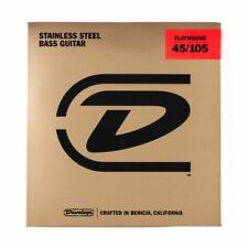 Dunlop DBFS45105 Flatwound Bass Guitar Strings 45-105 Gauge String Set