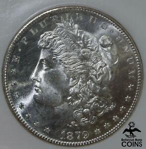 1879-S USA $1 Silver Coin Morgan Dollar NGC MS66 CONTINENTAL BANK HOARD BEAUTY!