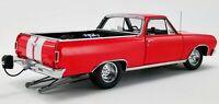 1965 CHEVROLET EL CAMINO DRAG OUTLAWS RED 1:18 DIECAST MODEL CAR ACME A1805411