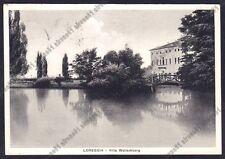 PADOVA LOREGGIA 01 VILLA WOLLEMBORG Cartolina viaggiata 1954