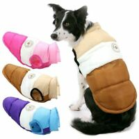 Winter Haustier Hund Warme Kleidung Pullover Welpen Winddicht Weste Jacke Mantel