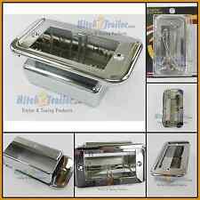 Chrome ash tray trim plastic for 359/379 Peterbilt 2006 & up 67931