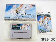 Complete Tales of Phantasia Super Famicom Japanese Import SFC Japan US Seller B