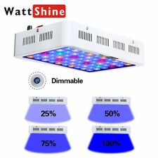Wattshine 180W Dimmable LED Aquarium Light Dimmer Fishes Coral Reef LPS SPS Tank